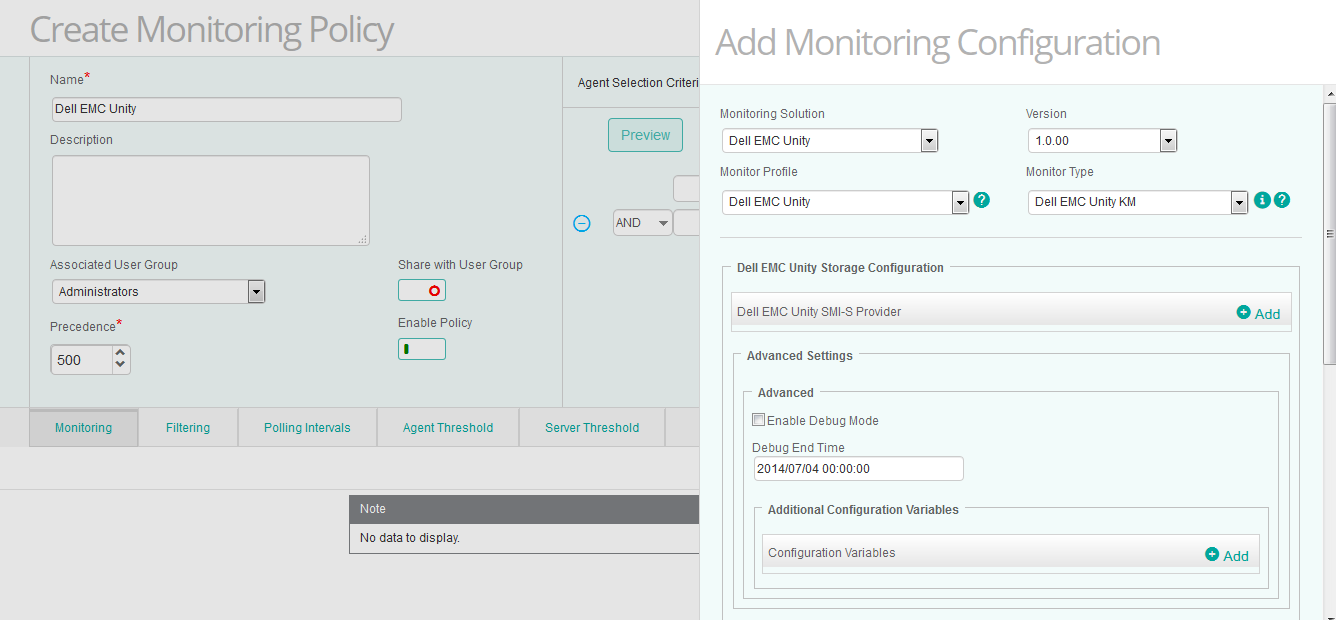 Dell EMC Unity KM   Sentry Software