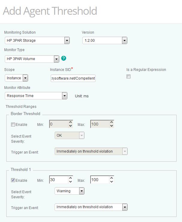 HP 3PAR - Configuring HP 3PAR KM for PATROL