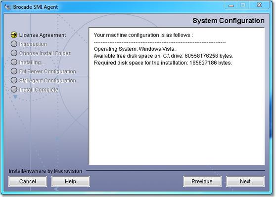 BMC Atrium Orchestrator Application Adapter for Brocade San